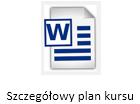 Plan kursu Word