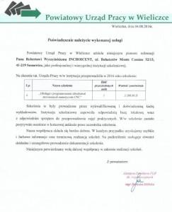 Referencje - Wieliczka